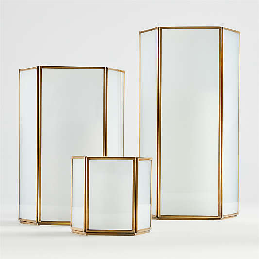 Andelyn Frosted Glass Hurricanes
