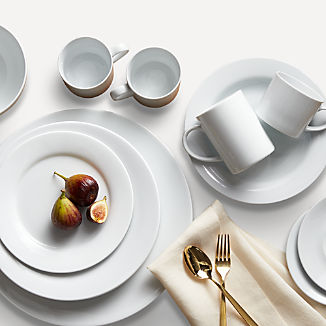 Aspen Rimmed Dinnerware