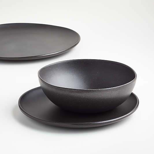 Audley Grey Bamboo and Melamine Salad Plate