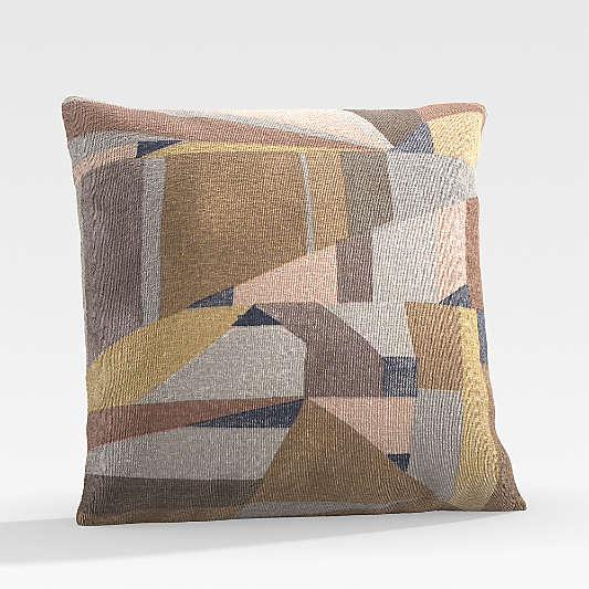 """Augustin 20"""" Ocher Outdoor Pillow"""