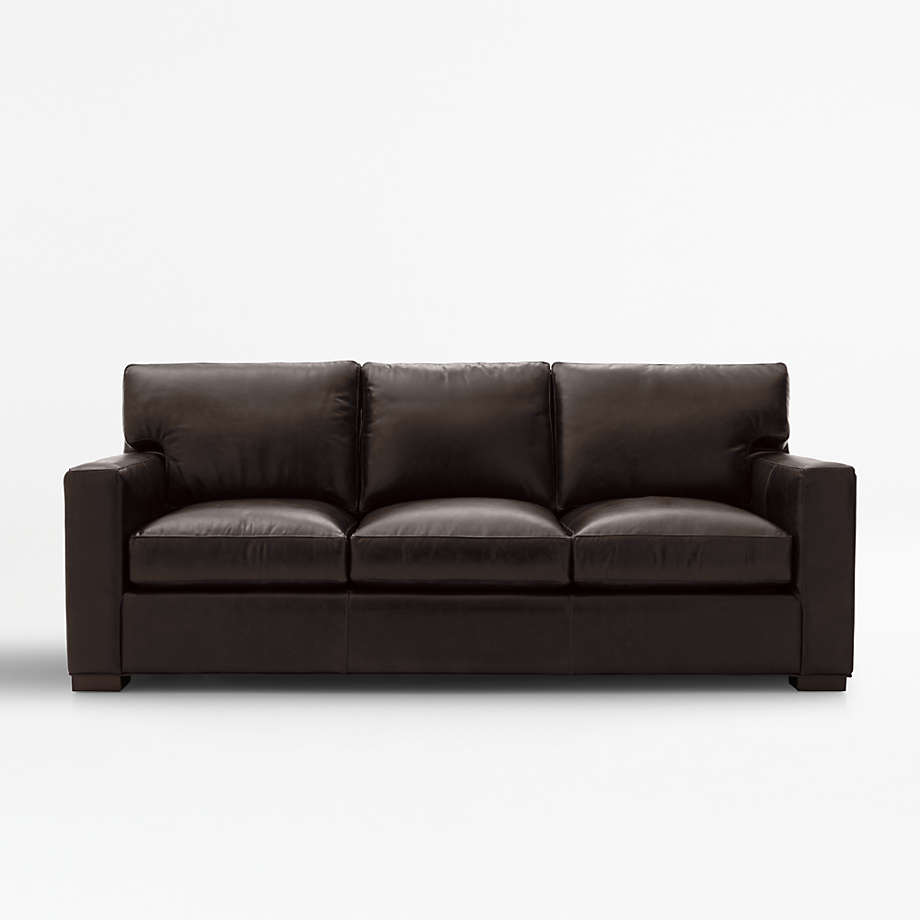 Axis Leather 12 Seat Sofa