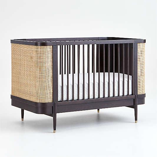 Dark Brown and Natural Thornhill Crib