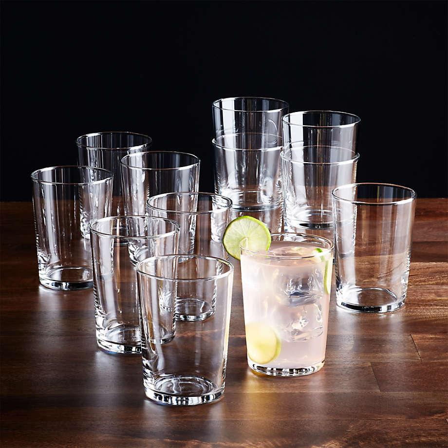 Bodega 17 Oz Glasses Set Of 12 Reviews Crate And Barrel