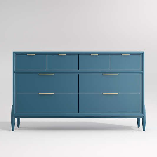 Blue Wide Bodie Dresser