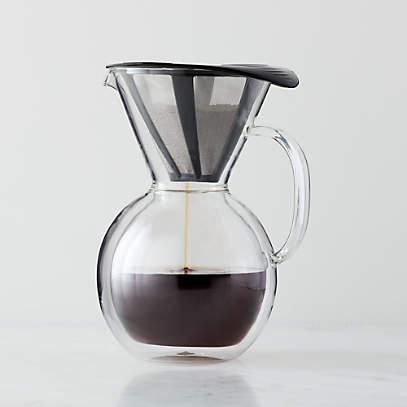 Bodum Glass Pour Over Coffee Maker, Bodum Pour Over Glass Coffee Maker