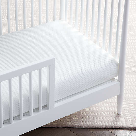 Lullaby Earth Super Lightweight 2-Stage Breathe Safe Baby Crib Mattresses with Breathable Mattress Cover