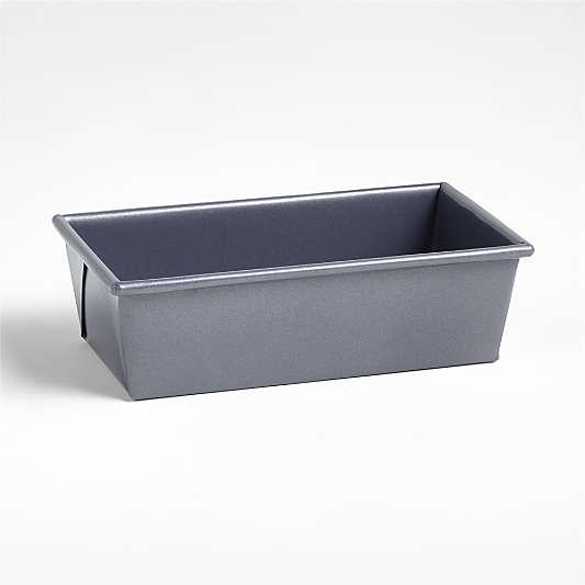 Crate & Barrel Slate Blue Loaf Pan