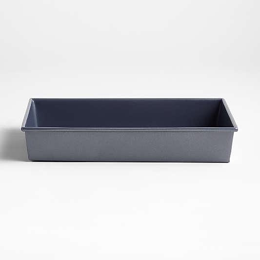 "Crate & Barrel Slate Blue 9""x13"" Rectangular Cake Pan"