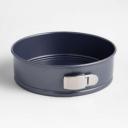 "Crate & Barrel Slate Blue 9"" Springform Pan"