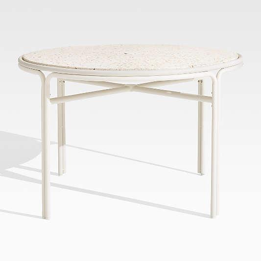 Campana Terrazzo Small Cafe Table