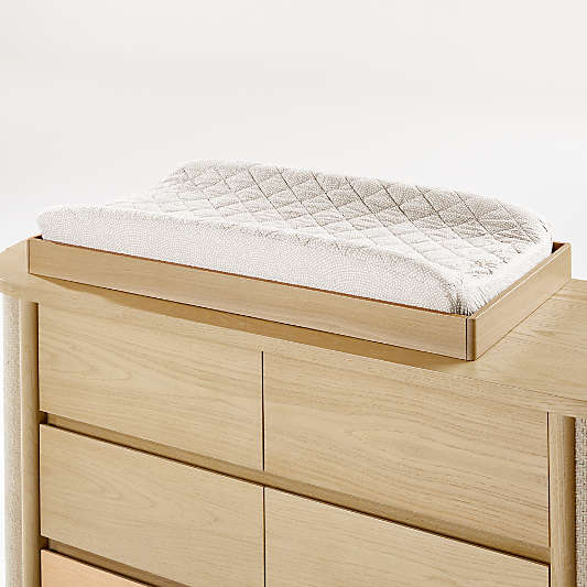 Canyon Natural Baby Changing Table Topper by Leanne Ford