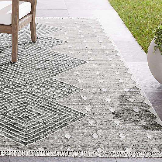 Ceri Grey Indoor/Outdoor Rug