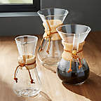 View Chemex 6-Cup Coffeemaker with Wood Collar - image 2 of 14