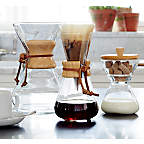 View Chemex 6-Cup Coffeemaker with Wood Collar - image 6 of 14