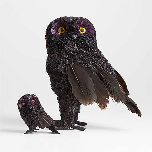 Corn Husk Owls