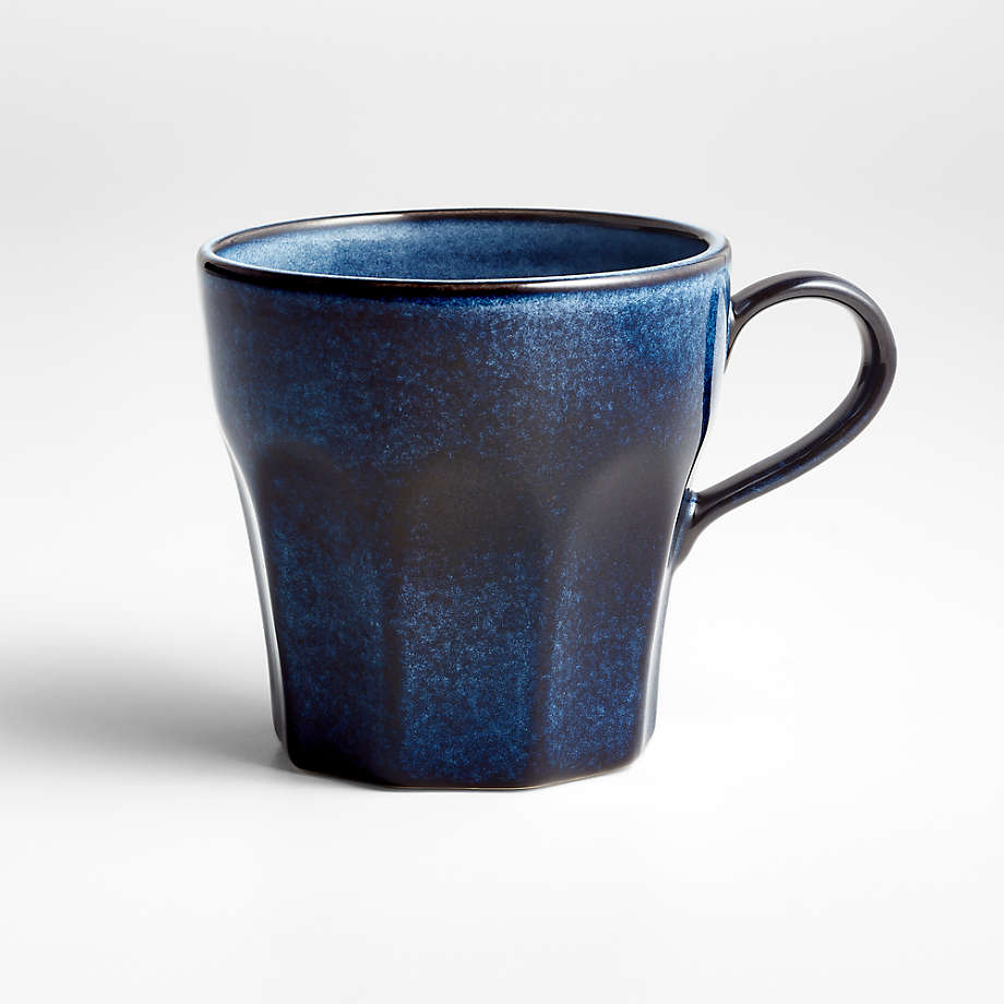 Cove Glazed Indigo Blue Mug (Open Larger View)