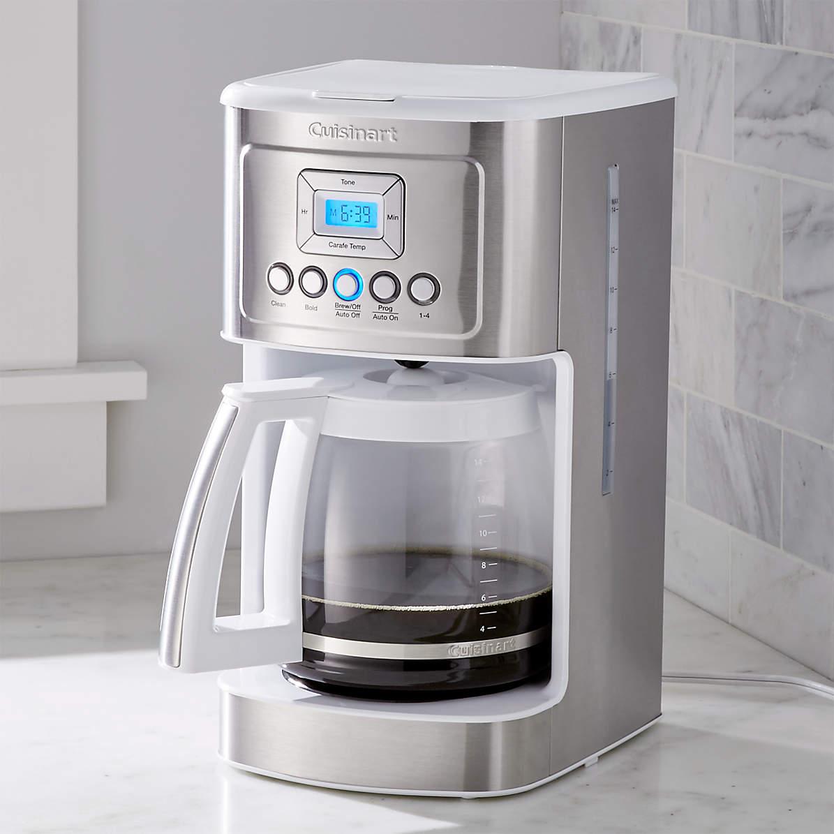 Cuisinart Perfectemp 14 Cup Programmable Coffeemaker Reviews Crate And Barrel