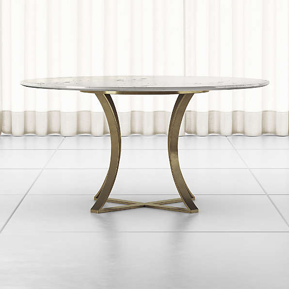 Round Dining Tables Crate And Barrel, 60 Inch Round Dining Table Set