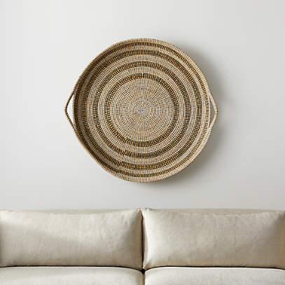 Dana Round Basket Wall Art Reviews, Round Wall Decor Canada