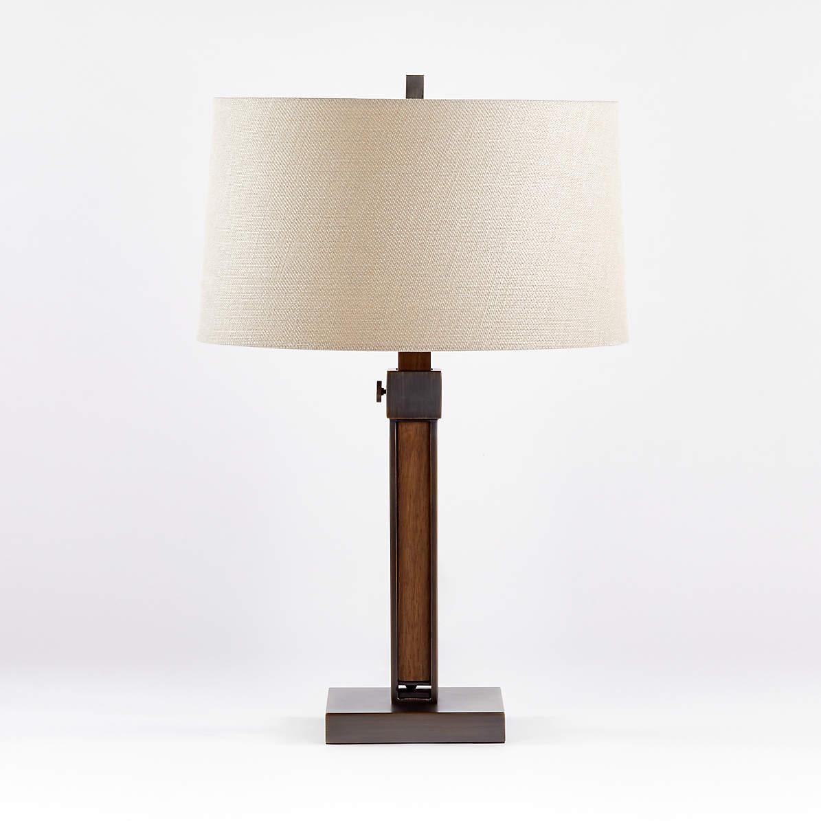 Denley Bronze Table Lamp Reviews Crate And Barrel