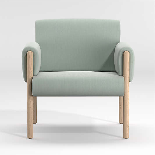 Diderot Wooden Upholstered Chair