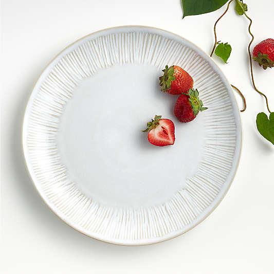 Dover White Dinner Plate