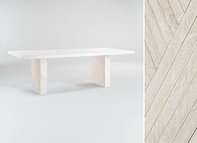 Dunewood Whitewashed Dining Table