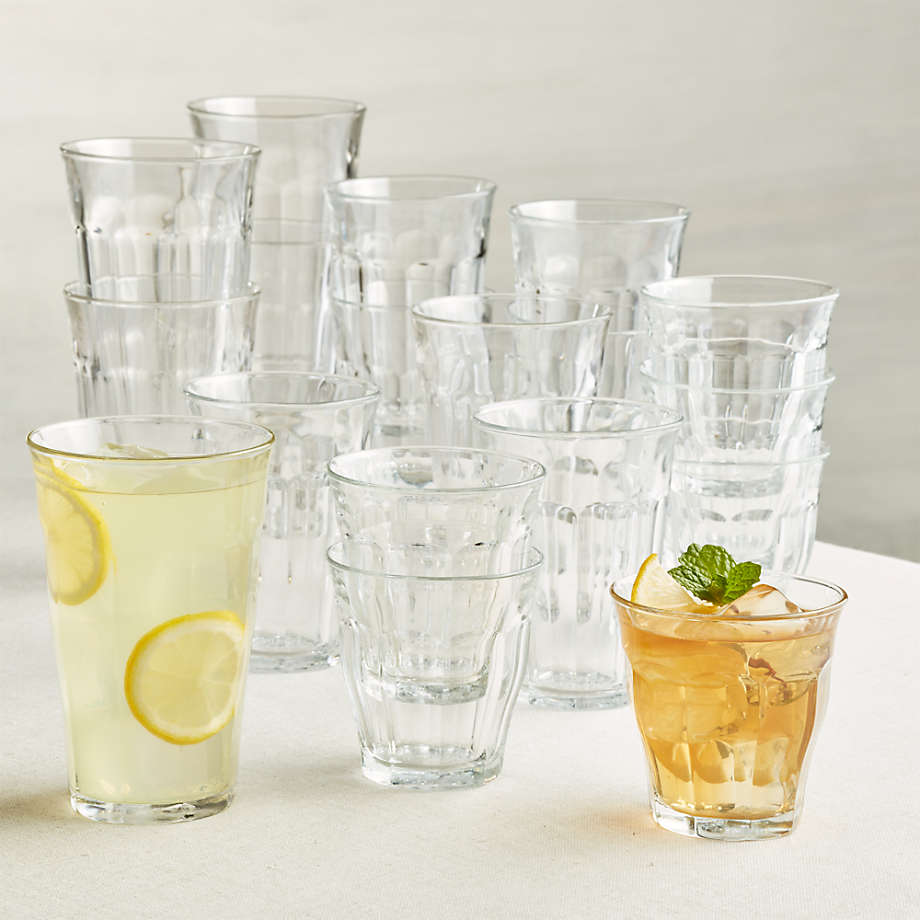 Duralex ® Picardie Glass Tumblers, Set of 18 (Open Larger View)