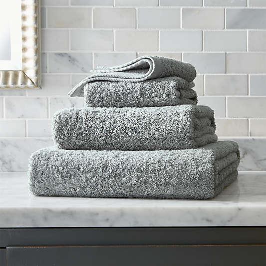 Egyptian Cotton Grey Bath Towels