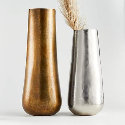Element Metal Vases Crate And Barrel