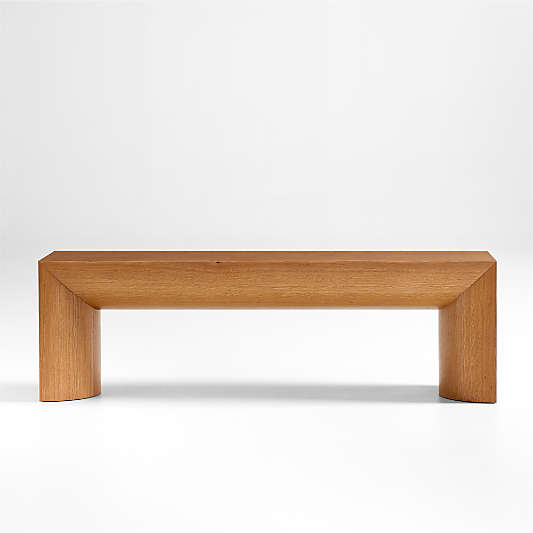 Emma Oak Wood Dining Bench