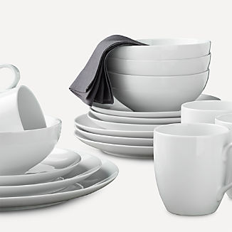 Aspen Coupe Dinnerware