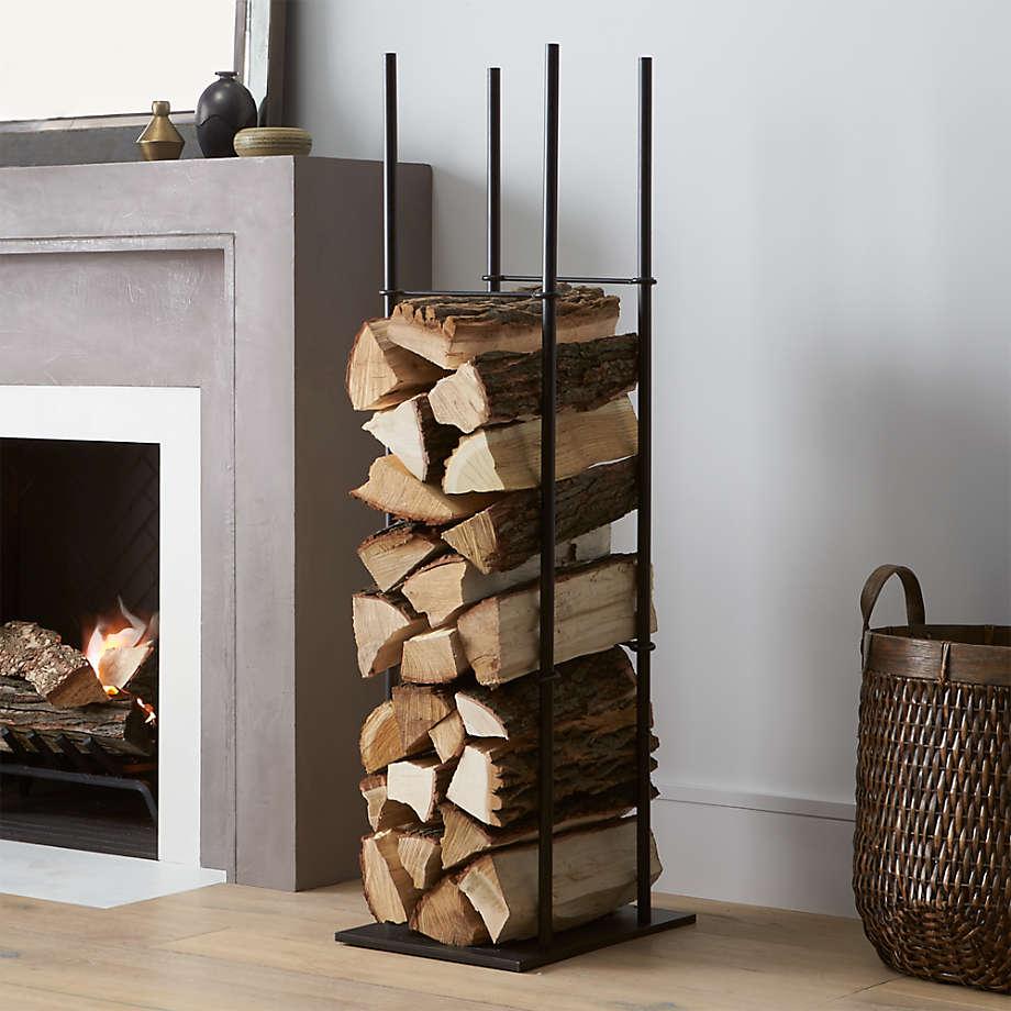 Frame Indoor/Outdoor Log Holder (Open Larger View)
