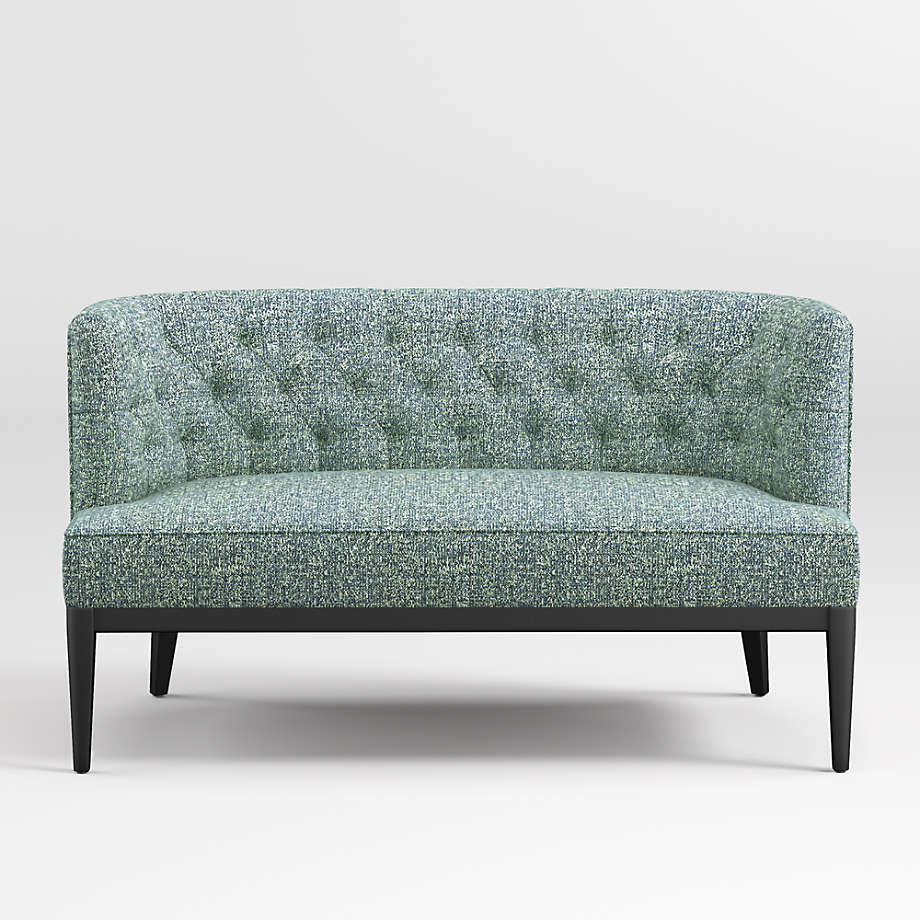Grayson Tufted Settee (Open Larger View)