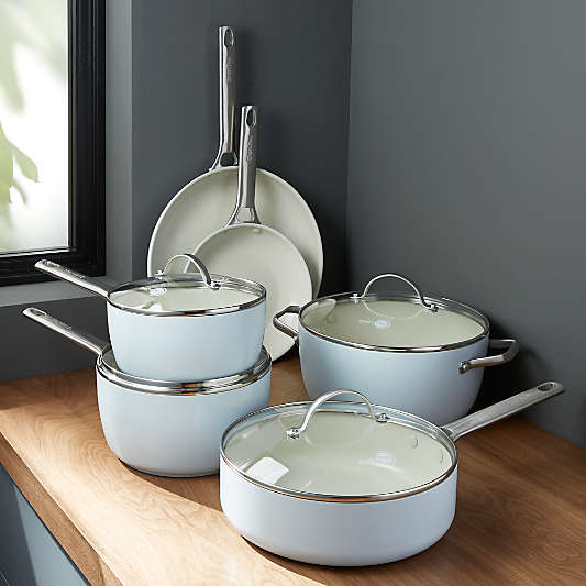 GreenPan ? Padova Ceramic Nonstick 10-Piece Cookware Set