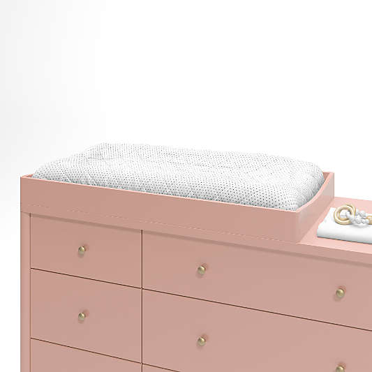 Hampshire Blush Baby Changing Table Topper