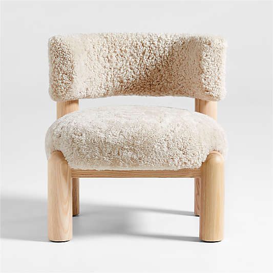 Harper Shearling Accent Chair