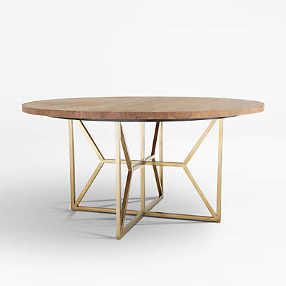 Hayes 60 Round Acacia Dining Table, Round Pub Table Canada