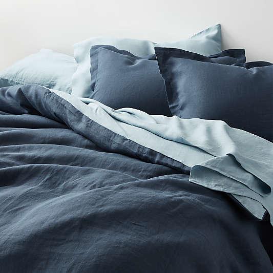 Lake Natural Hemp Fiber Duvet Covers and Pillow Shams