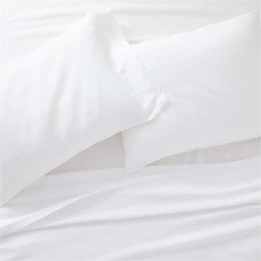 White Natural Hemp Fiber Sheet Sets