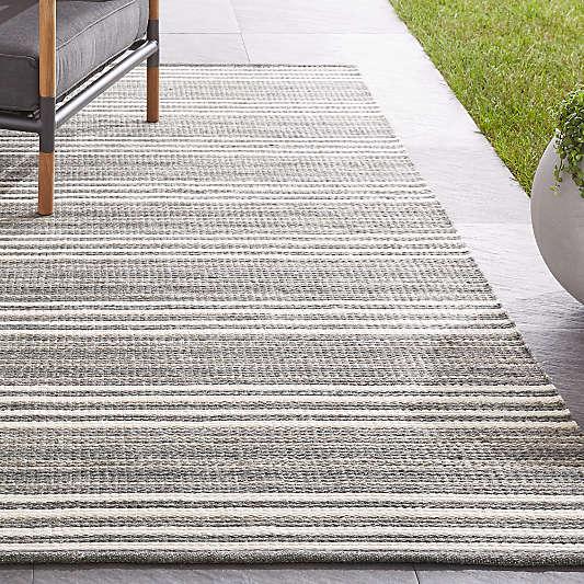Hesper Striped Indoor/Outdoor Rug