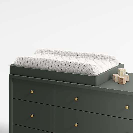 Olive Changing Table Topper