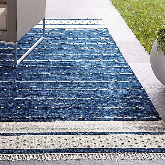 Inavi Blue Indoor/Outdoor Rug