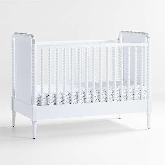 Jenny Lind White Baby Crib