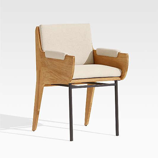 Kinney Teak Dining Chair with Cushion