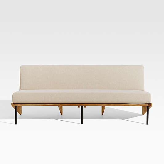 Kinney Teak Sofa with Cushion