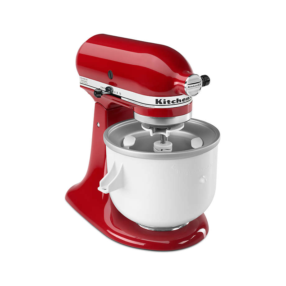 Kitchenaid Stand Mixer Ice Cream Maker Attachment Reviews Crate And Barrel