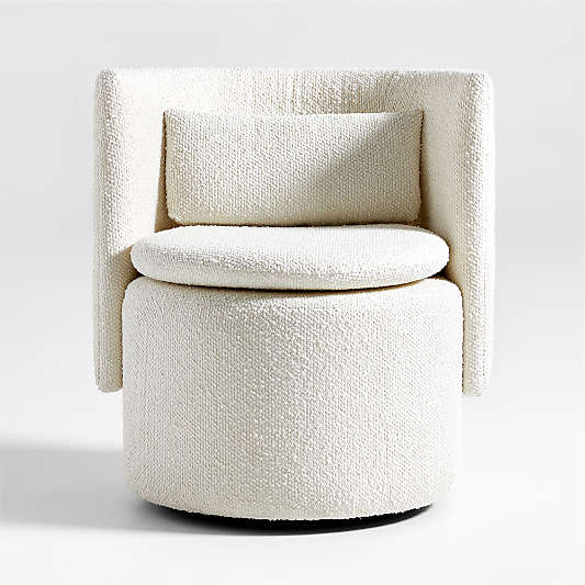 Lane Small Swivel Accent Chair