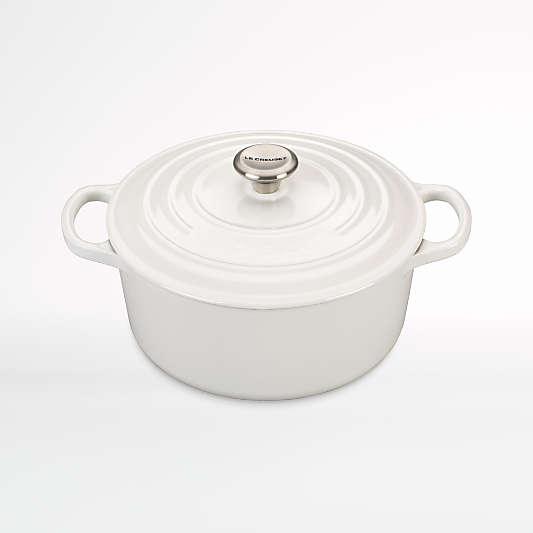 Le Creuset ® Signature White 3.5-Qt. Round Dutch Oven