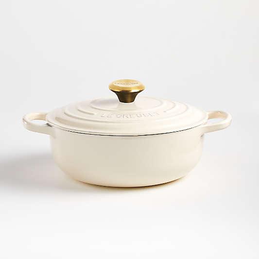 Le Creuset ? Signature 3.5-Qt. Cream Sauteuse Oven